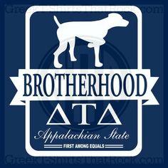 Delta Tau Delta Brotherhood Shirt Design Recruitment Rush and Bid Day Shirts! Order Yours Today! GTTR 800-644-3066