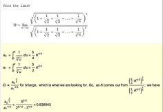I saw a wonderful exchange on twitter yesterday on a problem posted by Alexander Bogomolny: At first this problem didn't really jump off the page as a good first year calculus example, but th…