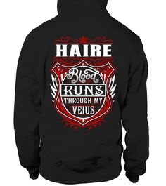 HAIRE Blood Runs Through My Veins