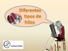 Diferentes tipos de hilo para el encaje de bolillos