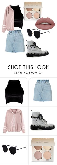 """Untitled #46"" by oalma952 on Polyvore featuring Boohoo and RE/DONE"