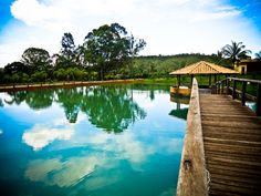 Lagoa com Coreto « Haras do Morro
