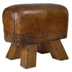 1940′s French Pommel Horse | From a unique collection of antique and modern stools at https://www.1stdibs.com/furniture/seating/stools/