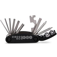 This Multi Function Bike tool is portable, lightweight and the perfect accessorie for general bike repairs. A must have tool for regular maintenance and emergency repair for cycle enthusiasts.