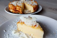 Nowa Ja - how to be FIT after Coconut delight, a four-component paradise - Fit Fodmap, Love Is Sweet, Healthy Baking, Raj, Vanilla Cake, Tasty, Yummy Yummy, Vegetarian Recipes, Cheesecake