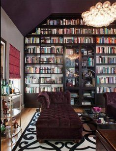 My next house has to have a room for a library :) Biblioteca particular, sonho de consumo