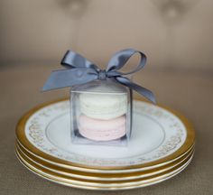 French Macroons #bridalshower #favour #personalized