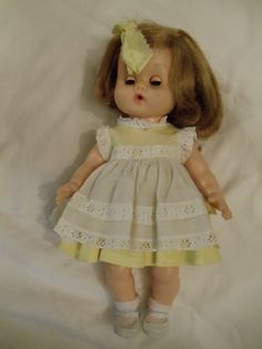 Vintage Ginny Doll...still have although she has seen better days and wears a pink dress!