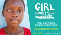A Parent's Pledge for Girl Summit 2014