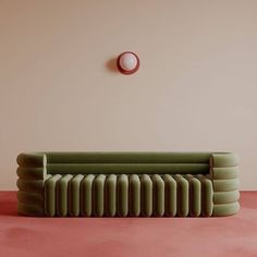 "Seating sculpture: Paris-based Benjamin Guedj ( designed this showstopper of a sofa with semi-circular armrests and tubular-style…"" Sofa Design, Design Design, Furniture Inspiration, Interior Inspiration, Sofa Furniture, Furniture Design, Sofa Sofa, Chesterfield Sofas, 2 Seater Sofa"
