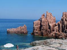 Rocce Rosse, Arbatax, Tortolì, Ogliastra, Sardegna, Italy.
