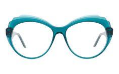 ANDY WOLF, LOVE // 5064 col. E // Eyewear handmade in Austria // Glasses // Fashion // Vintage // Palms //