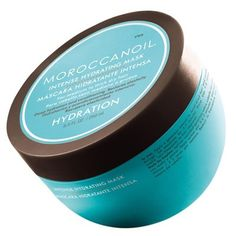 Hair in need of extra conditioning can benefit from this 5-minute revival treatment. Moroccanoil® Intense Hydrating Mask is ideal for thick hair, the high-performance, argan oil's rich formula deeply