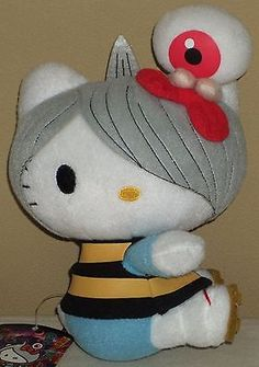 "Hello Kitty x Gegege no Kitaro w/Medama Oyaji Plush Dolls 7.5"" 19cm Sanrio 2010 | Collectibles, Animation Art & Characters, Japanese, Anime | eBay!"