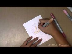 A tip for using the MISTI with the No Lines coloring technique - YouTube