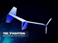 STAR WARS PAPER PLANE - How to make a paper airplane that FLIES - WARRANTY | Tie Fighter - YouTube