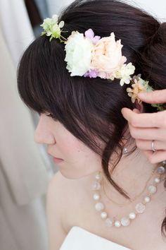 新郎新婦様からのメール たからもの2 日比谷パレスさまへ : 一会 ウエディングの花