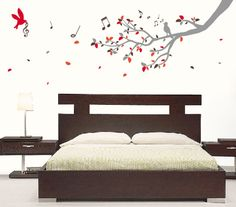 Otra din mica hogar on pinterest wall decals wall decal for Vinilos para habitaciones matrimoniales