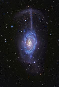 Galaxy NGC 4651 Umbrella | Sunday September 14, 2014 The spiral galaxy NGC 4651 is just 62 million light-years away in the northern and well-groomed constellation Coma Be ...