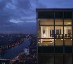 Rembrandt Tower Boardroom, vergaderen met een betoverend uitzicht vanuit het hoogste punt van Amsterdam.