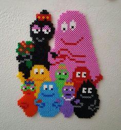 Barbapapa Hama beads by Mette Christiansen