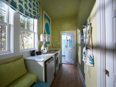 HGTV Smart Home 2013: Laundry Room Pictures. Built by Glenn Layton Homes in Paradise Key South Beach, Jacksonville Beach, Florida.