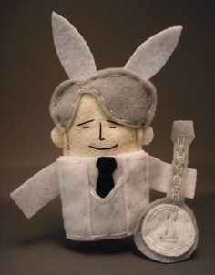 Steve Martin Finger Puppet ~ Well Excuuuuuuuuse Me!! Love it!!