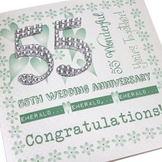 55th anniversary cards