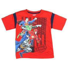 6040c42695b16 DC Comics Justice League Fun and Comfortable Boys Clothing - Houston Kids  Fashion Clothing