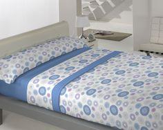 Coralina Dolce modelo Venecia en azul de Llar Textil