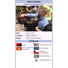#BattleOfBerkeley #Berkeley #FreeKekistan #FreeKek #Commiefornia WeAreTheNewMedia.com #AntifaAreTheFascists