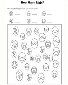 Easter Worksheets for Kids. 20 Easter Worksheets for Kids. Happy Easter Worksheet for Kids Preschool and Kindergarten Easter Worksheets, Printable Math Worksheets, Easter Activities, Kindergarten Worksheets, Worksheets For Kids, In Kindergarten, Calendar Worksheets, Easter Party Games, Kids Party Games