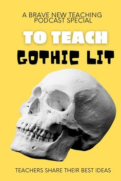 Whether you Jane Eyre, Frankenstein, or Poe on your agenda this year, take these ideas from secondary ELA teachers across the country for creative ways to implement instruction.  Exploring the dark sides of humanity is part of exploring gothic literature.