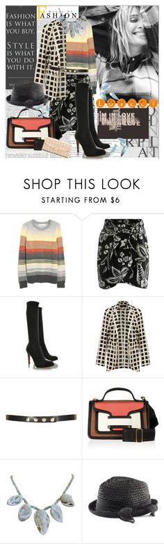 """""""It ain't what you do, it's the way that you do it..."""" by commedia ❤ liked on Polyvore featuring Andrea, Proenza Schouler, Isabel Marant, Gianvito Rossi, Topshop, Pierre Hardy, Karen Sugarman Designs, H&M and Tory Burch"""