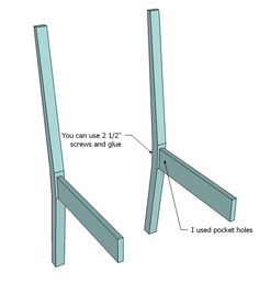 Build One Chair Or Several With The Daniela Dining Plans I