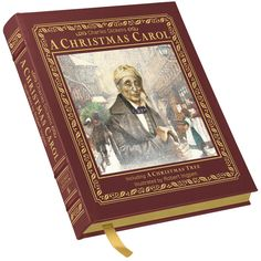 A Leather-Bound Collector Edition tells Charles Dicken's immortal story of Christmas!