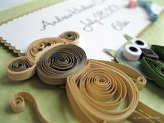 Keep up to date on new projects and ideas as you get a glimpse into my world of paper quilling Diy Paper, Paper Art, Paper Crafts, Diy Crafts, Paper Quilling Cards, Quilling Art, Quilling Ideas, Eco Friendly Paper, Handmade Tags