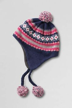 9ecd81908b1 Lands  End Women s Fair Isle Peruvian Hat on shopstyle.com Lands End Women