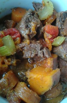 FitViews: Paleo Recipe - Slow Cooker Beef and Sweet Potato Stew