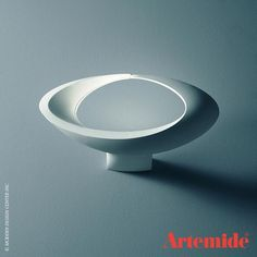 The Artemide Cabildo Wall Light is a wall mounted luminaire for indirect and diffused lighting. $430
