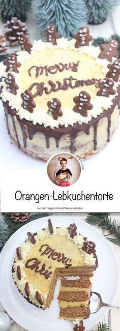 Auf der Suche nach einem kleinen Weihnachtstörtchen, das super einfach und sehr lecker ist. Dann schaut unbedingt bei meiner Orangen-Lebkuchentorte vorbei🎄 #Weihnachtstorte #torte #tortebacken weihnachtstortenrezepte #tortenrezepte #weihnachtskuchen #lebkuchen #orangen #backen #weihnachten #einfach #sonntagsistkaffeezeit Sweet Bakery, Cupcakes, Chef Recipes, Tiramisu, Sweets, Chocolate, Eat, Ethnic Recipes, Desserts