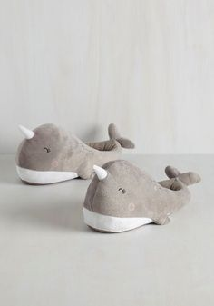 These adorable narwhal foot warmers.