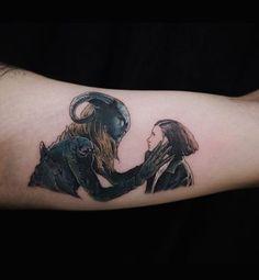 Pan's Labyrinth Tattoo