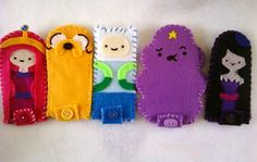 Adventure Time craft  my kids would love these!