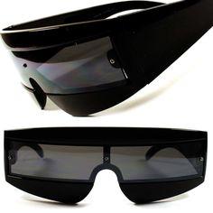 Cool Alien Space Robot Party Costume Cyclops Novelty Futuristic Sunglasses C2 #KISS #Futuristic