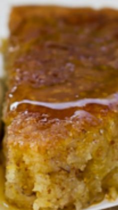 Moroccan Orange Cake ~ Light, moist, and so zingy