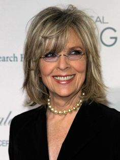 I love Diane Keaton and I want this hairstyle.