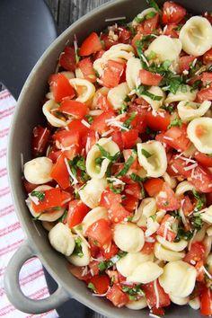 Bruschetta Pasta Salad - A Pretty Life In The Suburbs