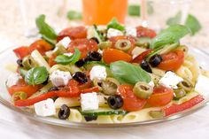 19 Skinny Pasta Recipes with Weight Watchers SmartPoints – The Dish by KitchMe Blt Pasta Salads, Greek Salad Pasta, Soup And Salad, Pasta Recipes, Salad Recipes, Cooking Recipes, Healthy Recipes, Lunch Recipes, Cooking Time