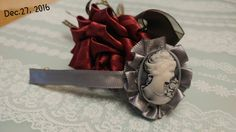 Rose pen and Hairpin Great idea for a gift